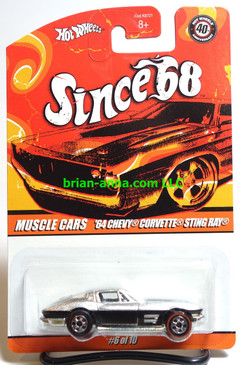 Hot Wheels Since 68 Muscle Cars, '64 Chevy Corvette Stingray **Error Car**
