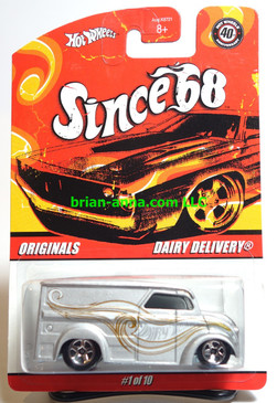 Hot Wheels Since 68 Originals, Dairy Delivery in Silver