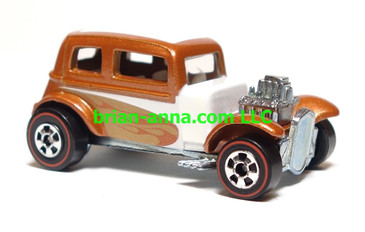 Hot Wheels Since 68 Top 40, '32 Ford Vicky in Copper, LOOSE