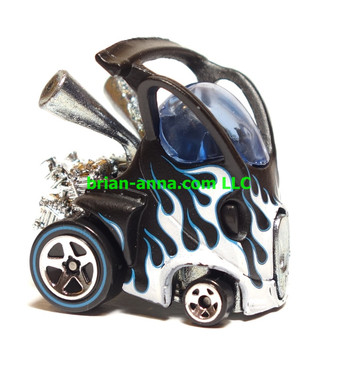 Hot Wheels Since 68 Originals, Hyper Mite in Flat Black, LOOSE