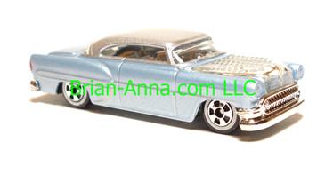 Hot Wheels Since 68 Hot Rods, Custom '53 Chevy, Light Blue, LOOSE