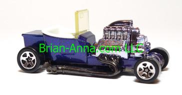 Hot Wheels T-Bucket, Speed Gleamer with Clear Windshield, Purple, SP5 wheels, loose