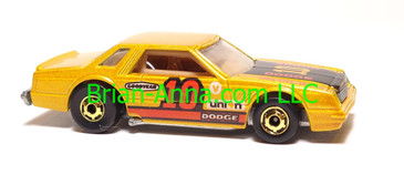 Hot Wheels Mirada Stocker, Metalflake Gold, hogd wheels, Hong Kong base, loose