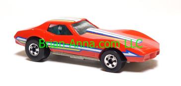 Hot Wheels Corvette Stingray, Kellogg's promo, Red, blackwall wheels, loose