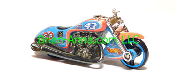 Hot Wheels Nascar Series Scorchin Scooter, #43 STP, loose