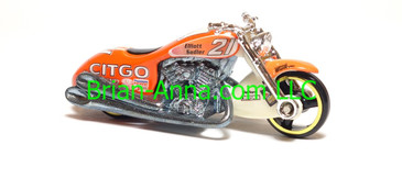 Hot Wheels Nascar Series Scorchin Scooter, #21 Citgo, loose