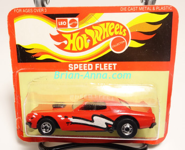 Hot Wheels Leo Mattel India Torino Stocker Red, White/Black tampo, Unpunched Blister