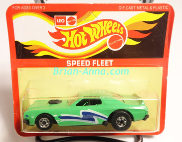 Hot Wheels Leo Mattel India Torino Stocker Mint Green, Blue/White tampo, Unpunched Blister