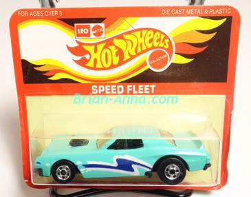 Hot Wheels Leo Mattel India Torino Stocker Aqua, Blue/White tampo, Unpunched Blister