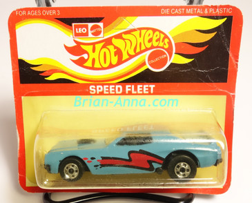 Hot Wheels Leo Mattel India Torino Stocker Light Blue, Bright Red/Black tampo, Unpunched Blister