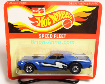 Hot Wheels Leo Mattel India Torino Stocker Blue, White/Black tampo, Unpunched Blister