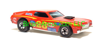 Hot Wheels Torino Stocker, Red, blackwall wheels, Hong Kong base, loose