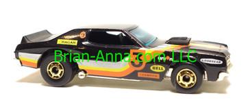 Hot Wheels Torino Stocker, Black, hogd wheels, Hong Kong base, loose