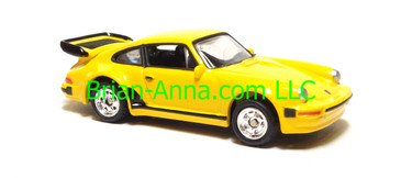 Hot Wheels Porsche 930 Turbo, Yellow, Motor Trend Series, China base, loose