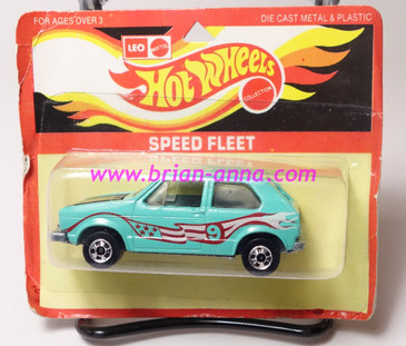 Hot Wheels Leo India Mattel Hare Splitter Aqua, Magenta/White tampo