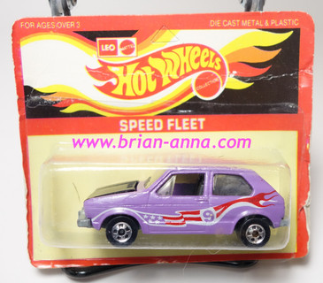 Hot Wheels Leo India Mattel Hare Splitter Purple, Red/White tampo