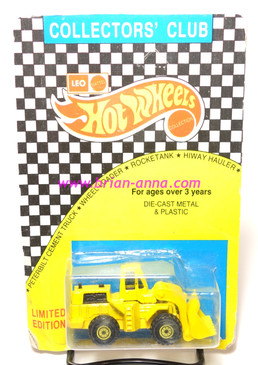 Hot Wheels Leo India Mattel Wheel Loader, Yellow