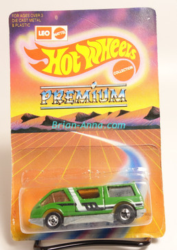Hot Wheels Leo India Mattel Dream Van, Green, White/Black tampo, blisterpack
