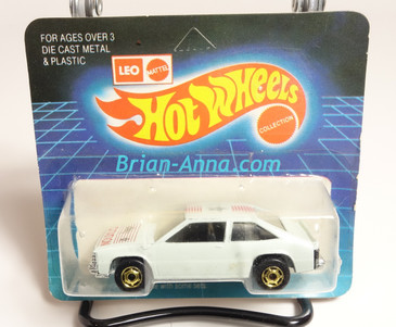 Hot Wheels Leo India Mattel White Chevy Citation, hogd wheels,  blisterpack