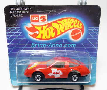 Hot Wheels Leo India Mattel Chevy Monza in Red, blisterpack