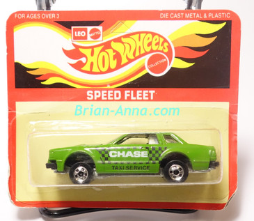 Hot Wheels Leo India Mattel Datsun 200SX in Green with Chase Taxi Service artwork tampo, blisterpack