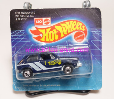 Hot Wheels Leo India Mattel Hare Splitter, Dark Blue, Hot Wheels tampo, BW wheels, blisterpack