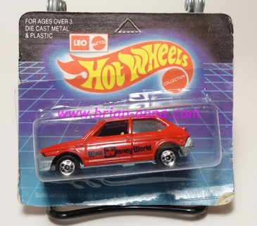 Hot Wheels Leo India Mattel Hare Splitter, Red, Walt Disney tampo, BW wheels, blisterpack