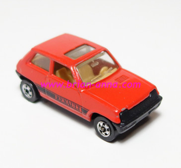 Hot Wheels Leo India Mattel Maruti in Red, BW wheels, loose