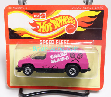 Hot Wheels Leo India Mattel Inside Story, Pink, Grand Slam II tampo, blisterpack