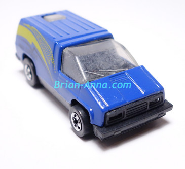 Hot Wheels Leo India Mattel Inside Story in Blue with Aero Express tampo, BW wheels, loose