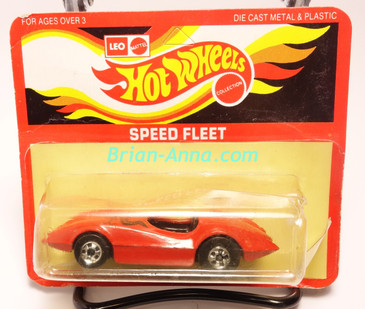 Hot Wheels Leo India Mattel Second Wind, Red, Eagle tampo on hood, BW wheels, blisterpack