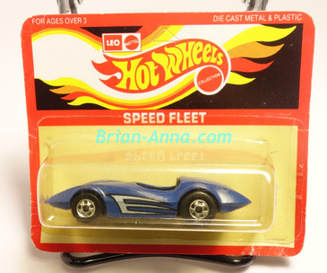 Hot Wheels Leo India Mattel Second Wind, Blue, Side tampo, BW wheels, blisterpack