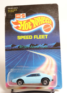 Hot Wheels Leo India Mattel Royal Flash in Baby Blue enamel, BW wheels, blisterpack