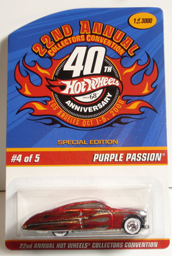 22nd Hot Wheels Convention Purple Passion