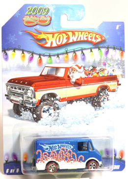 Hot Wheels 2009 Holiday Rods, Combat Medic in Blue Satin with White trim