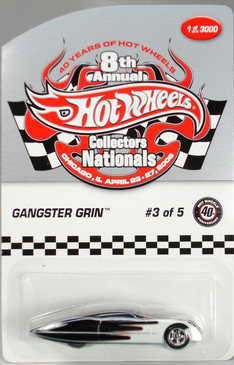 8th Hot Wheels Nationals Ford Gangster Grin limited run special edition