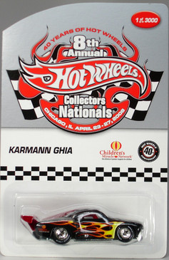 8th Hot Wheels Nationals Vw Karman Ghia limited run special edition