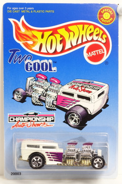 Hot Wheels Way 2 Cool Championship Auto Shows Promo