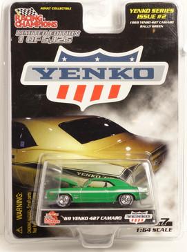 Yenko Series #2 1969 Yenko 427 Camaro in Bright Green