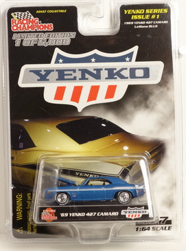 Yenko Series #1 1969 Yenko 427 Camaro in Blue