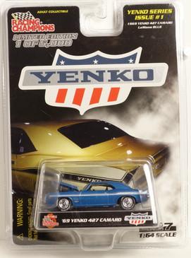 Yenko Series #1 1969 Yenko 427 Camaro in Blue