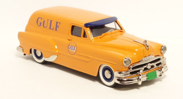 Brooklin Hand made white metal 1/43 scale automobile in Gulf Oil paint scheme