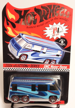 Hot Wheels 2004 selections series featuring the GMC Motorhome