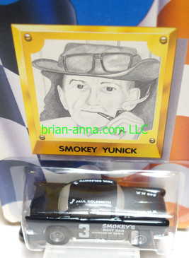 Smokey Yunick's '55 Black Chevy, Limited Edition Hot Wheels - NON Mint Cards