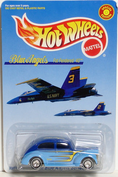 Blue Angels Limited Edition Hot Wheels
