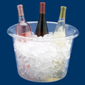 Jumbo Plastic Reusable Ice Buckets. Sold by the Case of 6 or Individually