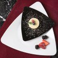 "Yoshi Triangle 6"" Dessert Plates  Available In 3 Colors. Packed 120 to a Case."