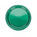Festive Occasion 9 Inch Plastic Plates Available in 24 Colors. Packed 20 or 200 to a Case