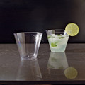 Comet or Yoshi Plastic Drinking Cups Available in 7, 8, 9, or 10 Ounce Sizes. Packed 25 or 500 Glasses to a Case.