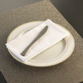 GlimmerWare Full Size Plastic Cutlery Dinner Knives. Packed 20 or  600 to a Case.